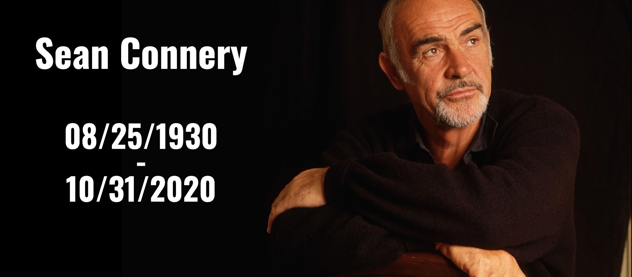 Passing of Sean Connery Episode Cover